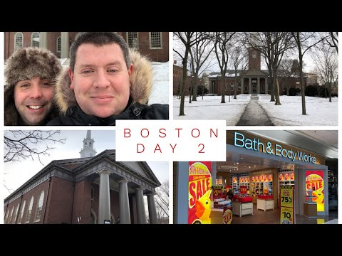 Vlogmas Bonus Day 30 - Harvard University, Tax Free Shopping in New Hampshire and Boston