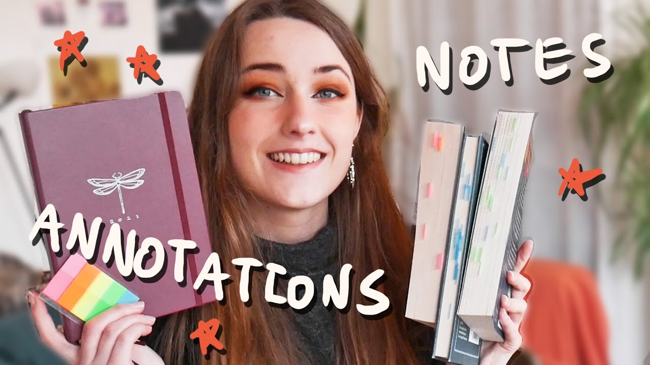 3 Ways I Annotate and Make Notes on Books I Read