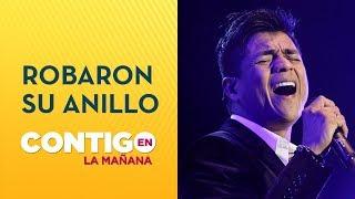 ¡INSÓLITO! Américo sufrió el robo de su anillo de matrimonio en pleno show - Contigo en La Mañana