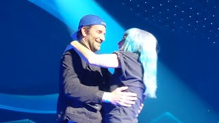 Gambar cover Lady Gaga - Shallow (Live) WITH BRADLEY COOPER - Full Video - Enigma Vegas Residency