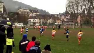 Rugby Espalion essai !!