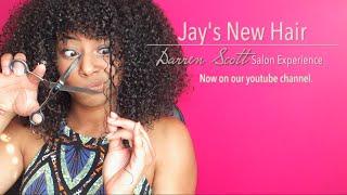 Jay's NEW hair | Darren Scott Salon Experience