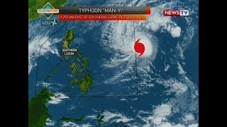 Weather update as of 4:20 p.m. (November 23, 2018)