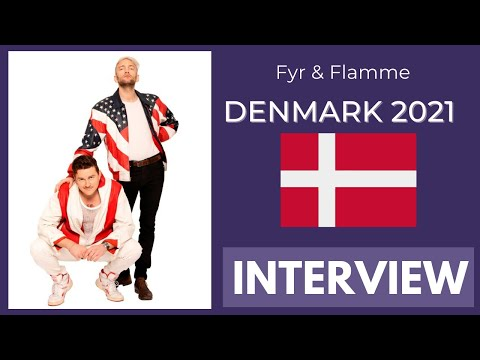 Eurovision 2021 Denmark: Fyr & Flamme INTERVIEW