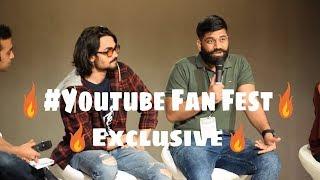 Bhuvan Bam, Technical Guruji, CarryMinati, Shruti Anand At YouTube FanFest 2018 Delhi