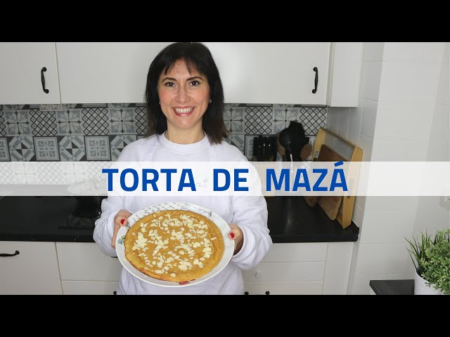 TORTA de MAZÁ🍏 SAUDABLE ✅ EN SARTÉN