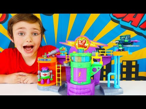 Superzings Series 4 Kazoom Lab Playset