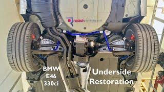BMW E46 330ci - Underside Restoration - Better Than New!
