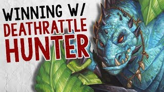 WINNING W/ DEATHRATTLE HUNTER | Constructed | The Boomsday Project | Hearthstone
