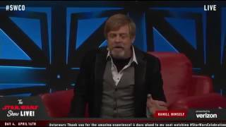 "Mark Hamill talks about being on ""Bad Lip Reading"" and impersonating Harrison Ford"