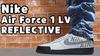 """Nike Air Force 1 '07 LV8 """"Under Construction"""" Pack unboxing/nike air force 1 LV8 review"""