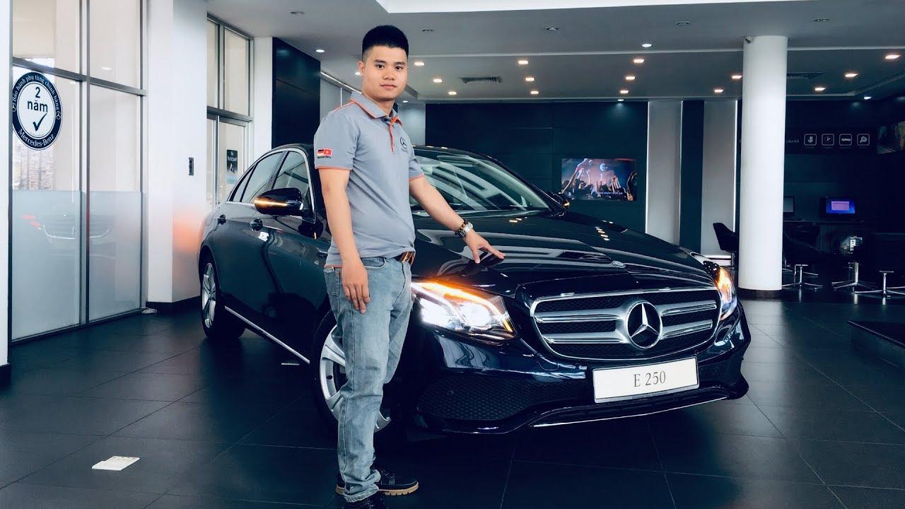 Mercedes E250 2019 Dòng Xe Sang Được Nhiều Doanh Nhân Lựa Chọn Nhất Tại Việt Nam