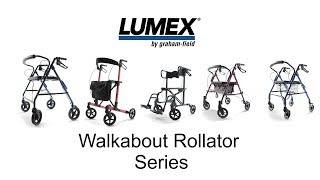 Walkabout Rollator Series