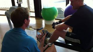 The MaD CA physical assessment 1 March 2011 - post rowing recovery