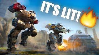 CHICKS DIG GIANT ROBOTS!! | War Robots