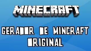 Gerador de Minecraft Original [100% funcionando] 2016-2017