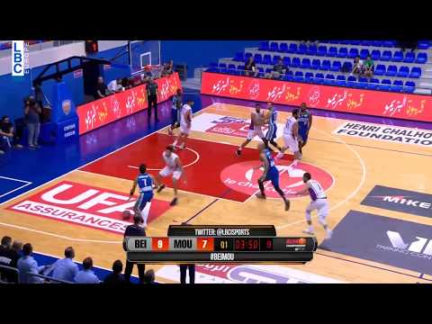 Alfa Basketball Championship - Beirut v Mouttahed - Hassan Dandach Assist