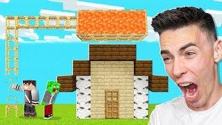 RUSZTOWANIE z LAWĄ PRANK na PALIONIE w Minecraft!