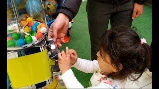 Ayşe Ebrar Sakız Makinesinden Şekerli Sakız Almak İçin Ağladı I For Kids Video