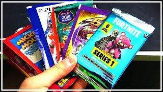 20 DISCLAIMER PACKS !!! 😱🔥 with Fortnite & Yu-Gi-Oh