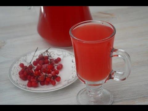 Морс из калины — лечебный напиток