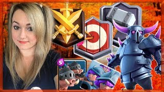 🌂LADDER PUSHING +4900 WITH PEKKA HOG DECK |GRAND CHALLENGE WITH 3M ROYAL HOGS |🌂CLASH ROYALE🌂