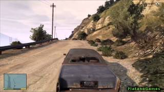 GTA V - Wild Mountain Lion Revenge - Fatal Encounter - Grand Theft Auto 5 PS3 Gameplay - HD