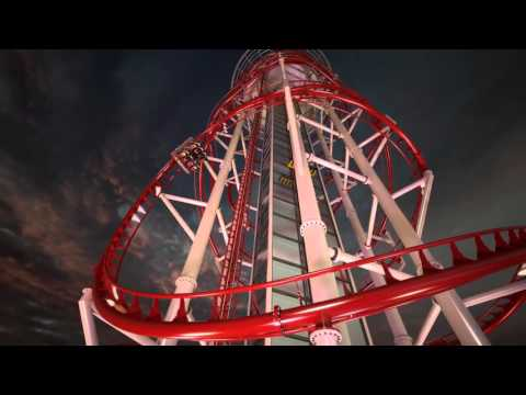 US Thrill Rides NEW Polercoaster with Intamin Design (OFFICIAL RELEASE 2015)