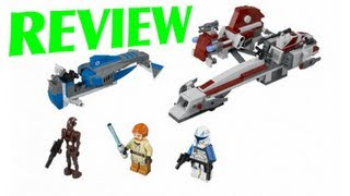LEGO 75012 BARC Speeder with Sidecar LEGO Star Wars Review