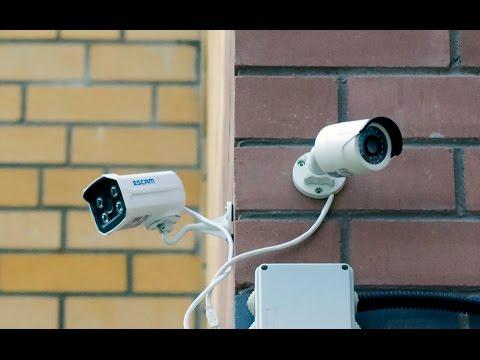 Комплект видеонаблюдения на 4 камеры для улицы низкие цены