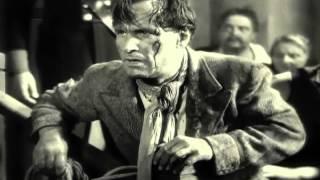Ausschnitt aus dem Heimatfilm 'Der Berg ruft' 1938