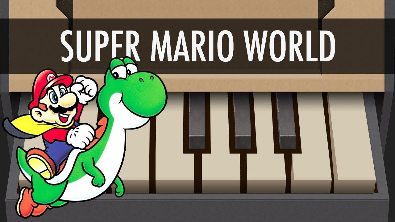 Super Mario World Theme - NINTENDO LABO Piano Songs - Cover - Tutorial