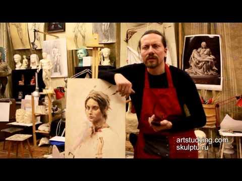 Как использовать ретушный лак в масляной живописи