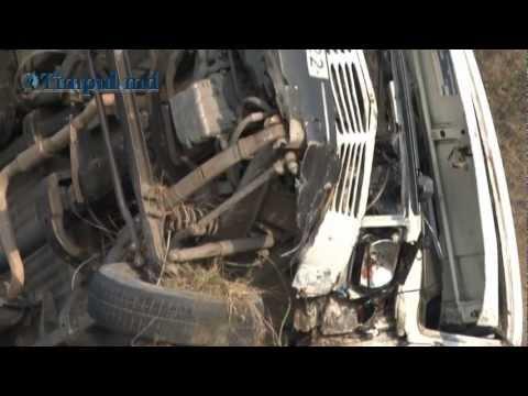 TIMPUL.MD VIDEO: Microbuzul morţii. Accident tragic la Anenii Noi.