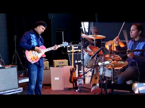 Commodity Cheese Blues live 2017 Indian Summer Fest with Wade Fernandez Trio