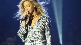 Beyonce - cries singing Heaven Live 2014 HD