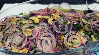 Salada De Carne Fria Para Comer Com Pão