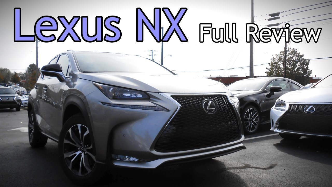 2017 lexus nx full review nx 200t f sport 300h hybrid youtube. Black Bedroom Furniture Sets. Home Design Ideas