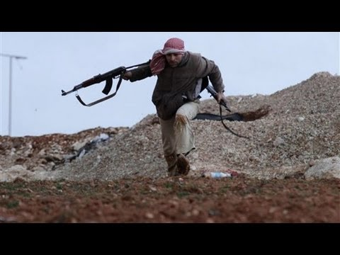 FSA Fighters In Heavy Firefight With The Syrian Army