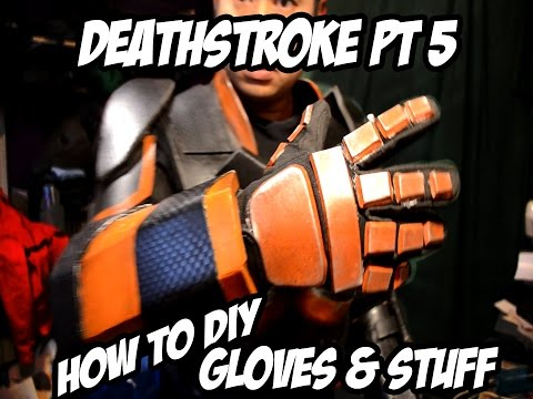 Deathstroke How to Diy Costume Part 5
