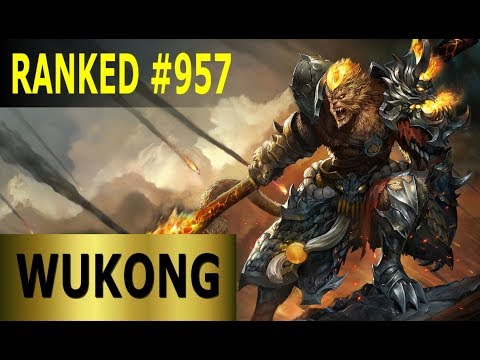 Wukong Jungle - Full League of Legends Gameplay [German] Lets Play LoL - Ranked #957