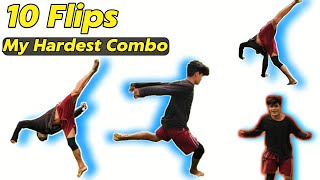 My Top 10 Hardest Tricking Combo🔥🔥🔥