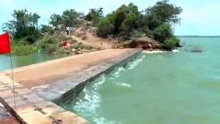 THE FAMOUS KRS BACKWATERS STONE TEMPLE IN KARNATAKA