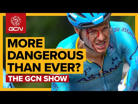 Is Professional Cycling More Dangerous Than Ever? | GCN Show Ep.368
