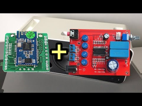 DIY Bluetooth Speaker : Parts Guide 1 : YDA138 + CSR8645 + Arduino