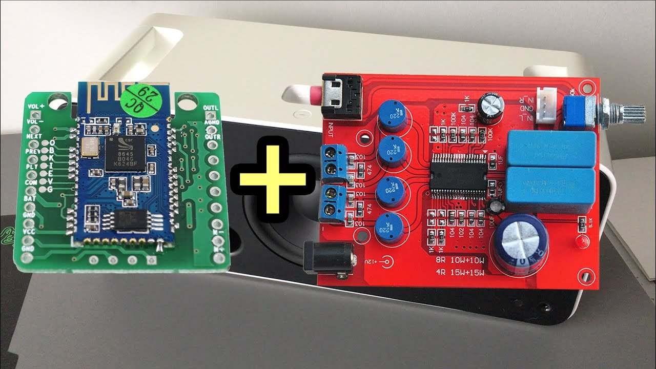 Diy bluetooth speaker parts guide yda csr