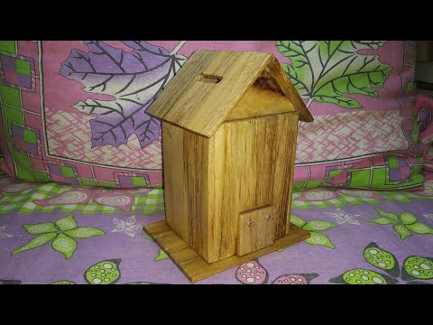 How to make wooden money box