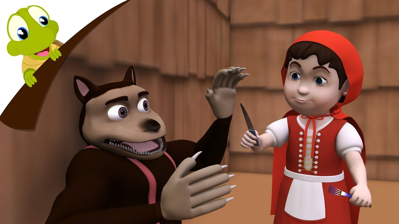Download Little Red Riding Hood Full Story for Kids in 3D   Kids Fairy Tales