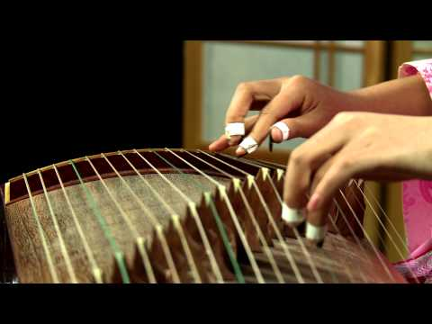 "Traditional Chinese Music: ""Fisherman's Song at Dusk,"" Chinese Zither Performance"