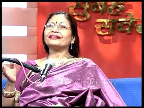 Sumitra Guha, a world renowned Indian classical musician